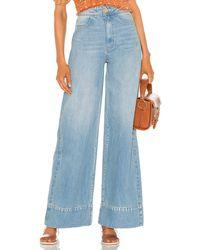 Free People Talia Trouser Jean - Blue