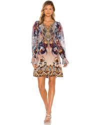 Camilla Платье В Цвете Nouveau Nights - Многоцветный