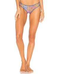 Luli Fama - Stitched Bikini Bottom - Lyst