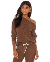 Monrow Tシャツ - ブラウン