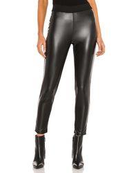 1.STATE Leather パンツ - ブラック