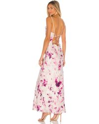 Bardot Tie Dye スリップドレス - ピンク