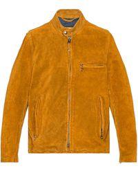 Schott Nyc Куртка В Цвете Табачный - Многоцветный