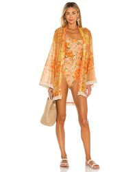 Agua Bendita X Revolve Juana Kimono - Orange