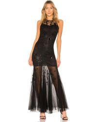 Parker Black Monique Dress - Schwarz