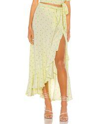 Faithfull The Brand Aubrie Skirt - Gelb