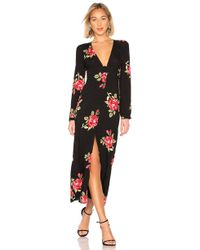Amuse Society - All Buttoned Up Dress In Black - Lyst