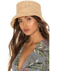 Janessa Leone Manon Bucket Hat - Braun