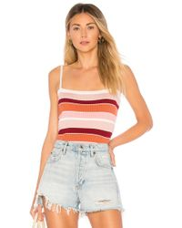 MINKPINK - Shades Of Rose Knit Cami - Lyst