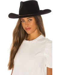 Brixton Jenkins Cowboy Hat - Schwarz