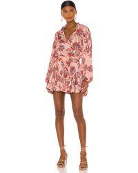 MISA Los Angles Lorena Dress - Pink