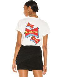 Junk Food Budweiser Tシャツ - ホワイト