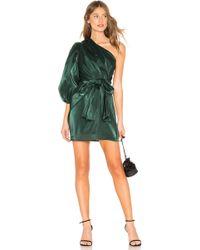 Lovers + Friends - Kennedy Mini Dress In Dark Green - Lyst