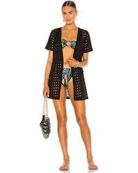 Solid & Striped Мини Платье Sarah В Цвете Затемненный - Black. Размер L (также В M, S, Xs). - Черный