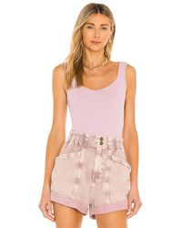 Free People - Clean Lines ボディスーツ - Lyst