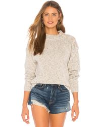 Sanctuary - Jasper Buttoned Sweater In Light Gray - Lyst