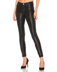 Blank NYC Vegan Leather Pant - Schwarz