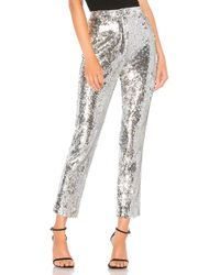 MILLY - Pantalón sequins - Lyst