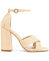 House of Harlow 1960 X Revolve Cava Heel - Natural