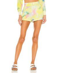 Alice + Olivia Tandy hot pant shorts - Amarillo
