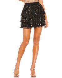 Privacy Please Celeste Mini Skirt - Black