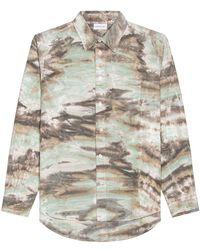 John Elliott Рубашка Corpus В Цвете Marrin Camo - Многоцветный