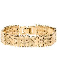 Vanessa Mooney - The Members Only Bracelet In Metallic Gold. - Lyst