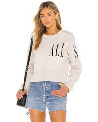AllSaints Separ スウェットシャツ - マルチカラー