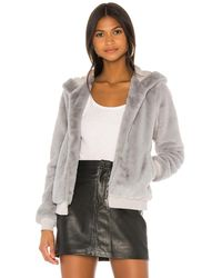 superdown Marissa Hooded Jacket - Grey