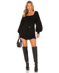 Free People Emmaline Mini Dress - Black
