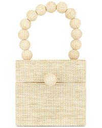 Cult Gaia Eos Box Bag - Natural