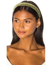 DONNI. Dolce Headband - Green