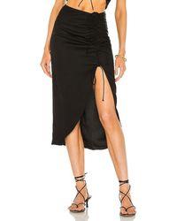 Nbd Laraya Midi Skirt - Black