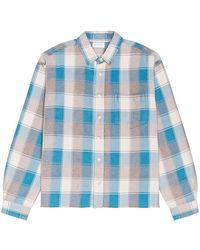 John Elliott Camisa hemi - Azul