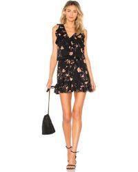 PAIGE - Farfalla Dress In Black - Lyst