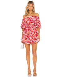 MISA Los Angles Isella Dress - Rot