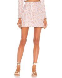 MAJORELLE Fresno Mini Skirt - Pink