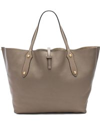 Annabel Ingall - Isabella Large Tote In Gray. - Lyst