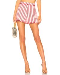 Alexis - Terra Shorts In Red - Lyst