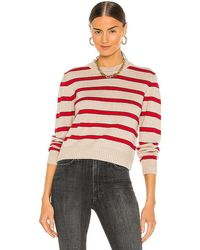 The Great Shrunken Crew Pullover - Red