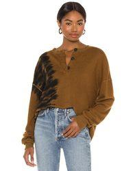 n:PHILANTHROPY Pratt スウェットシャツ - ブラウン
