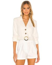 Lovers + Friends Wilcox Duster - White