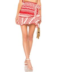 Alexis - Marti Skirt In Red - Lyst