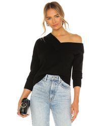Michelle Mason Off Shoulder セーター - ブラック