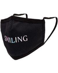 GRLFRND Smiling Face Mask - Black