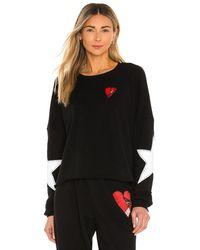 Lauren Moshi Lee Crop Pullover - Black