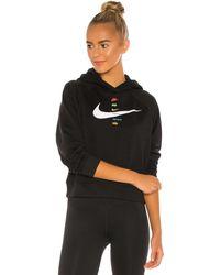 Nike Swoosh パーカー - ブラック