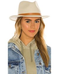 Brixton Шляпа Федора Messer В Цвете Гравий - Многоцветный