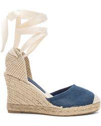 Jeffrey Campbell - Adorra Sandal In Blue - Lyst