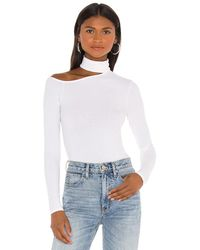 Enza Costa トップ In White. Size S,m. - ホワイト